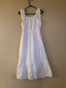 Justice Girl Size 14 Maxi Dress White