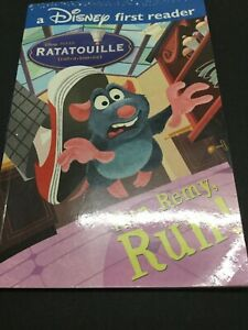 "Disney First Reader Ratatouille ""Run Remy Run"" ISBN 9781741678871"