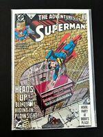 ADVENTURES OF SUPERMAN #483 DC COMICS 1991 NM+