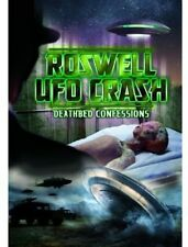 Roswell UFO Crash: Deathbed Confessions (2013, REGION 1 DVD New)
