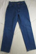 Wrangler 13MWZG Womens Denim Jeans Dark Color Tag 11/12x32 Measure 29x31 Cowboy