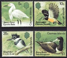 Cayman Islands 1984 Birds set of 4 Mint Unhinged