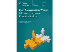 The Great Courses DVD HOW CONVERSATION WORKS Teaching Co New Sealed Anne Curzan
