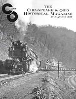 C&O Chesapeake & Ohio July/Aug 2017 Page Water Columns Steam Locomotive Depot