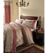 Catherine Lansfield Kashmir 200 Thread Count Duvet / Quilt Cover Bedding