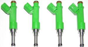 SET of 4 BRAND NEW OEM Injectors 2009-15 Toyota & Scion 2.5L & 2.7L,  2320939175