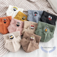 Super Soft Embroidered Happy Socks