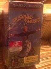 The Sound of Music VHS 2-Tape Set, Golden Anniversary W/ Soundtrack Cassette
