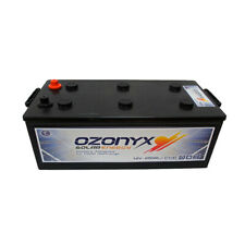 Batería solar 12v monoblock acido plomo abierto  250Ah Fotovoltaica Ozonyx