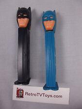 Batman 1985 Black & Blue Pez Candy Dispenser DC Comics Vintage Slovenia Hungary