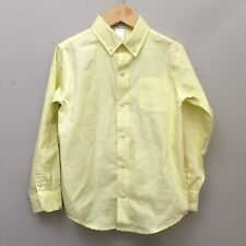 Janie and Jack Toddler Boy Special Occasion Yellow Long Sleeve Button Down 5