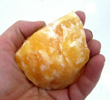 Orange Calcite Crystal 9one) mineral 100g - 200g heaing crystals +70mm