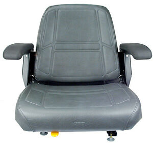 14845  SEATS INC. 907 SERIES SEAT CHARCOAL GREY
