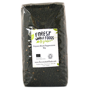 Organic Black Peppercorns - Forest Whole Foods