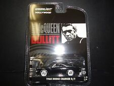 Greenlight Dodge Charger RT 1968 Steve McQueen Bullitt White Sideline 1/64 44741