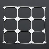 10Pcs Balloon Grid Frame Square 9 Grids Modeling Party Balloons Wall Wedding