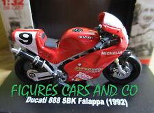 MOTO 1/32  DUCATI 888 SBK FALAPPA  1992 MOTORCYCLE MOTORRAD