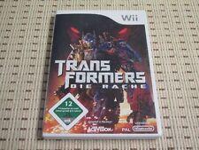Transformers Die Rache für Nintendo Wii und Wii U *OVP*