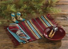 Park Designs Southwest Saddle Blanket Placemat - Set of 4 Western Place Mats
