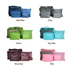 10Pcs/Set Travel Storage Bag Waterproof Clothes Packing Cube Luggage Organizer