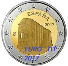 2 €  ESPAGNE  COMMEMORATIVE 2017   2  X  PIECES   OVIEDO  /   2017    disponible