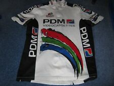 PDM Concorde Ultima Italian cycling jersey [48 inch chest] c1990