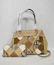 SET Coach F31533 Brooke Carryall Tote/Shoulder Bag +Wallet in Beechwood Multi