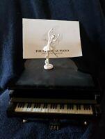 Wonderland THE CLASSICAL PIANO Music Box With Dancing Ballerina