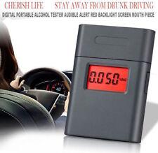 Professional Digital LCD Breath Alcohol Tester Breathalyzer Analyzer AT838 NYPR