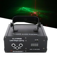 Led Laser Stage Lighting Rgb Stage Fixture 3 Eyes Projector Dj Disco Ktv Party