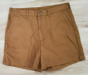 Patagonia Mens Shorts Size 36 Stand Up Brown