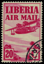 "LIBERIA C10 - Symbols of Flight ""Sikorsky Amphibian Plane"" (pb26030)"