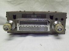 1962 STUDEBAKER AM MANUAL TUNE RADIO AC-3217 W/ WHITE KNOBS - MARKED WORKING