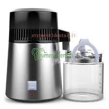 4L Distillatore d'Acqua distillatore Acqua con Bottiglia di Raccolta in Vetro