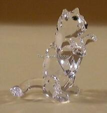 SWAROVSKI CRYSTAL CAT BEGGING / KITTEN 162887 MINT BOXED RETIRED RARE