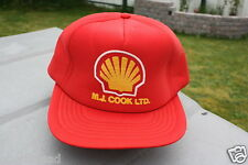 Ball Cap Hat - Shell - M.J. Cook Ltd - Oil Gas Agent Station (H849)