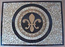 Floor Marble Travertine Tile Medallion Design Stone 32x32 #64b