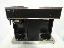 """ BUNN "" HEAVY DUTY POUR OVER COUNTER TOP COMMERCIAL COFFEE BREWER w/ 3 WARMERS"
