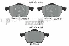 2301802 TEXTAR CAR BRAKE PADS Front