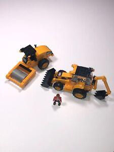 Mega Bloks World Builders 97805 Caterpillar Road Building Unit ** Not Complete**