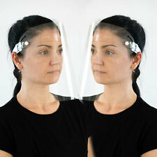 2 x Schutzvisier Polycarbonat Visier Gesichtsschutz Schutzbrille Spuckschutz