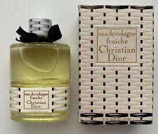 Christian dior FRAICHE EAU DE COLOGNE 57 ML 1.8 fl oz VINTAGE