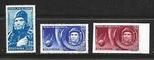 ROMANIA COMPLETE STAMP SET SCOTT #C103, C104 MNH IMPERFORATE 1961 SPACE GAGARIN