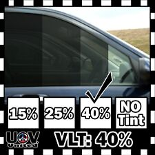 "VLT 40% 30"" x 60"" 5 FT Office Car Home Commercial Uncut Window Tint Roll Film U3"