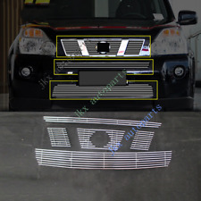 5pcs ABS Front Bumper Middle Grille Grill Vent For Nissan Rogue XTrail 2008-11