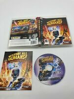 Sony PlayStation 3 PS3 CIB Complete Tested Destroy All Humans: Path Of The Furon