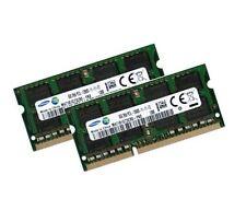 2x 8GB 16GB DDR3L 1600 Mhz RAM Speicher Gigabyte P35K Notebook U21M PC3L-12800S