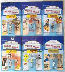 Complete Set of 6 Dicast Looney Tunes Figures Warner Bros./ImagINations 1988 NEW
