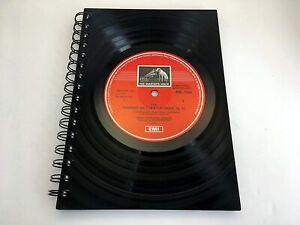 Elgar, Symphony No 2, HMV, Vinyl Record A5 Notebook gift