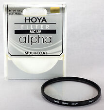 Hoya ALPHA 58mm UV Digital Lens Filter Multi-Coated Glass USA Dealer C-ALP58UV